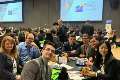 Students of the Banking Master program attended the RITC 2020 World Competition