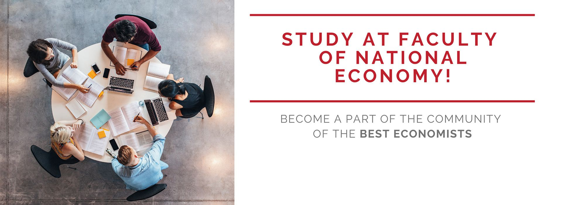 Study at Faculty of National Economy!